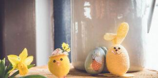 Jak udekorować elegancki salon na Wielkanoc