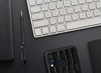 etui skórzane Samsung Galaxy A40